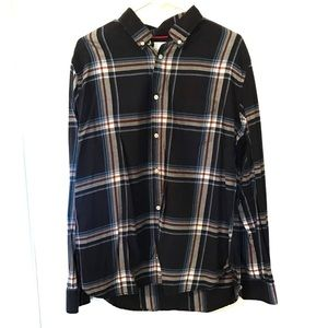 Aeropostale plaid button down